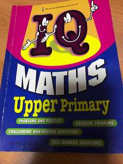 Maths Upper Primary by Sandhya Sundar