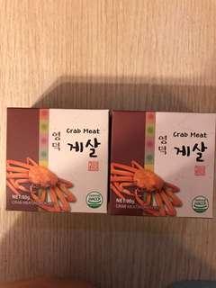 韓國即食蟹肉‼️