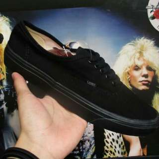 Vans Authentic All Black  Size : 37/38/39/40/41/42/43/44  Waflee IFC/DT PREMIUM QUALITY BNIB