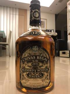 舊版 Chivas Regal 12 years old whisky 3.78L
