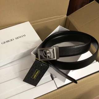 Authentic Giorgio Armani Men Belt