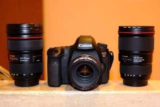Canon 6D + Lenses
