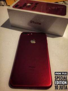 iphone 7plus Red 128 Gb special edition