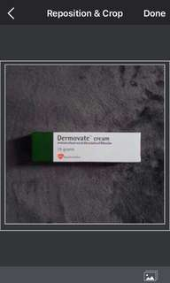 Dermovate cream for Eczema