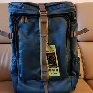 TARGUS Seoul Backpack 15.6 Trolley Sleeve Water Resistant