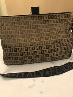 Authentic FENDI sling bag tip top condition