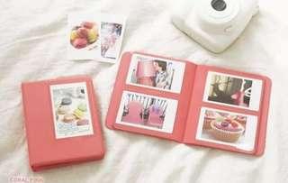Instax Mini Flim Album (Dark Pink)