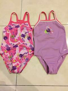 🆓📮Baby Girl Swimsuit SPEEDO 2-3 years old set