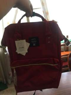 ANELLO BACKPACK (Maroon)