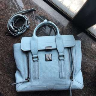 不議價 番工之選100%real 3.1 phillip lim baby blue M size bag