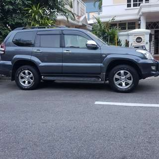 Toyota Prado 2.7 Auto TX Limited Sunroof 7-Seater