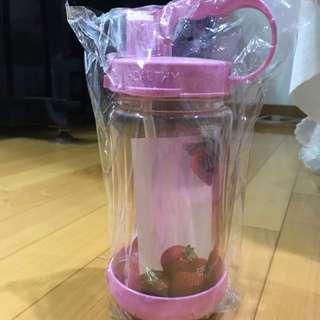1000c.c 健康 彈跳式水壺/粉紅色