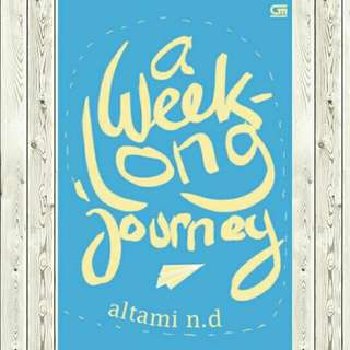 ebook ~ a week long journey