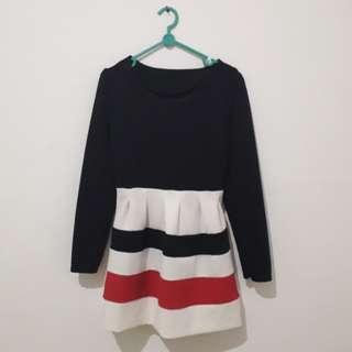 Dress blackwhitepink