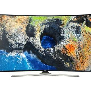 "55"" Curved UHD Smart Curved Samsung TV"