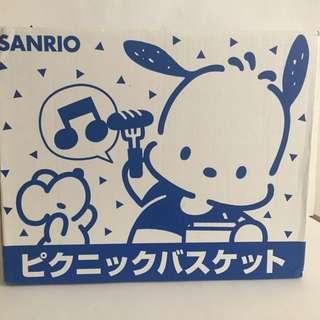 Sanrio vintage Picnic Set PC狗 馬騮 XO Cheery Chums Hello Kitty 1996