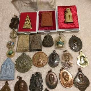 Thai amulets(A19set)25pcs