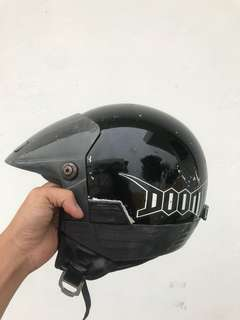 Shoei h1 robocop lookalike / rs 909 evo