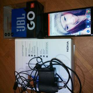 Nokia complete package with charger headset and jbl speaker....pm plss...