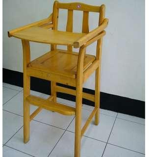 【親親小舖~免運】木製 竹製 兒童餐椅 寶寶餐椅 拆疊