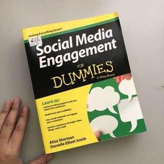 SOCIAL MEDIA ENGAGEMENT for dummies