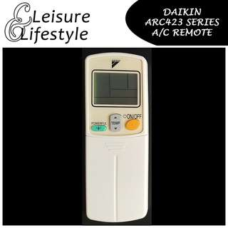[A/C Remote] Daikin ARC423 Series