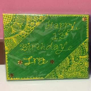 Henna Canvas Gifts
