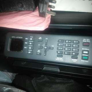 Brother MFC-J470DW 四合一打印機 連 填充墨盒
