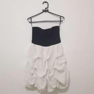 Dress whiteblack