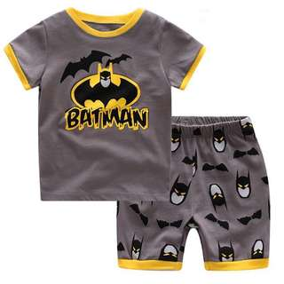 #Fesyen50 Boys Short-sleeved Cartoon Printed Casual Sets