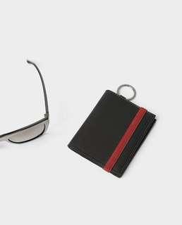 ZARA Man Black Wallet with Elastic Band