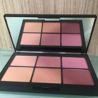 Nars limited edition blush palette六色胭脂