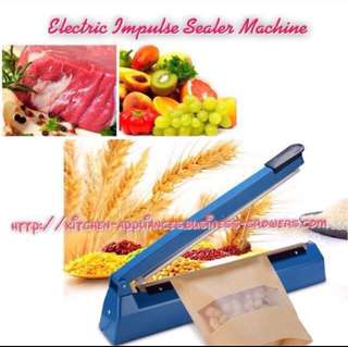 """Electric Impulse Sealer For Air Tight Plastic Bag Sealing Collectibles Bank Notes Stamps Collections Packaging 8"""" 20cm & 12"""" 30cm"""