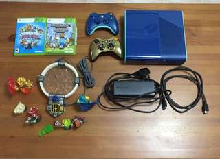 Xbox360 E Special Limited Edition Blue Console