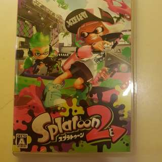 Japanese Splatoon 2 for the Switch