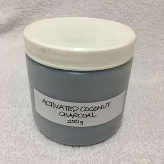 Activated Coconut Charcoal 250g (repackaged)