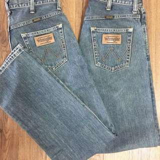 Authentic Wrangler Pants size 29 from japan 550 each