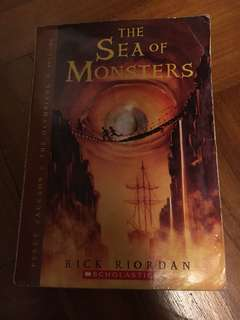 Percy Jackson The Sea Of Monsters book two (scholastic) by Rick Riordan