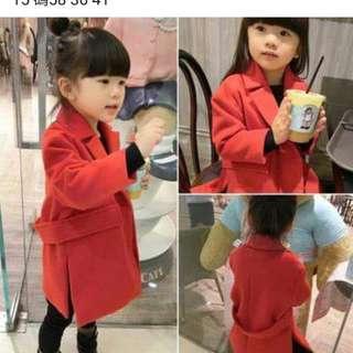 挺版紅色大衣(15號)