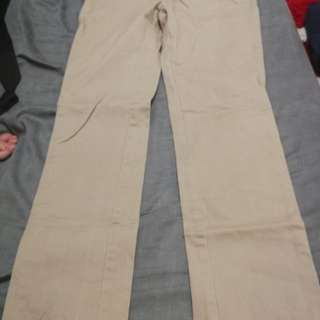 Authentic Cherokee Khaki Uniform - Preloved