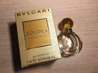 BVLGARI Goldea Perfume 5ml