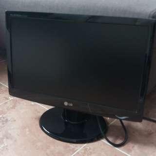 """(有盒) LG 電腦 Mon - 19"""" monitor"""
