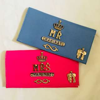 Personalized Passport Holders, Wallets, Card Holders and Key Holders