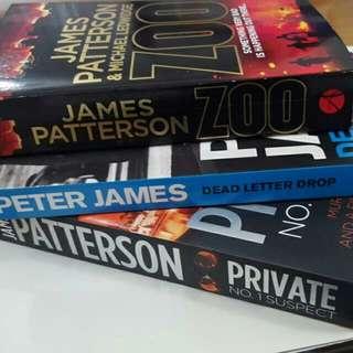 thriller novels.