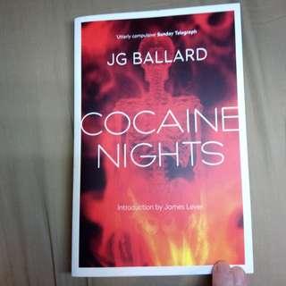 Cocaine Nights by JG Ballard *like new*