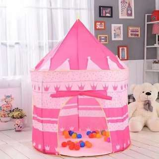 Play tent (pink & blue)