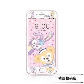 預購* 可愛達菲 史黛拉 iPhone 鋼化玻璃膜 螢幕保護貼 送桌布