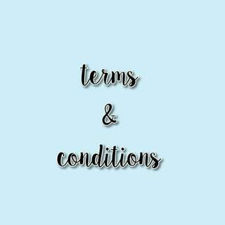 TERMS&COMDITIONS