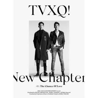 TVXQ Album Vol 8 - New Chapter #1:The Chance Of Love
