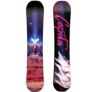 全新 Capita Space Metal Fantasy Women Snowboard Good Wood 2018 Park Winner